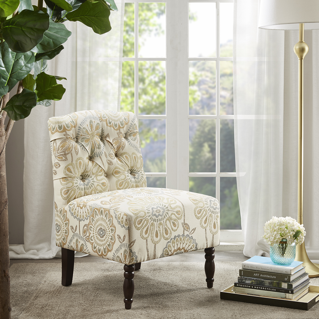 Lola Tufted Armless Chair Madison Park Olliix