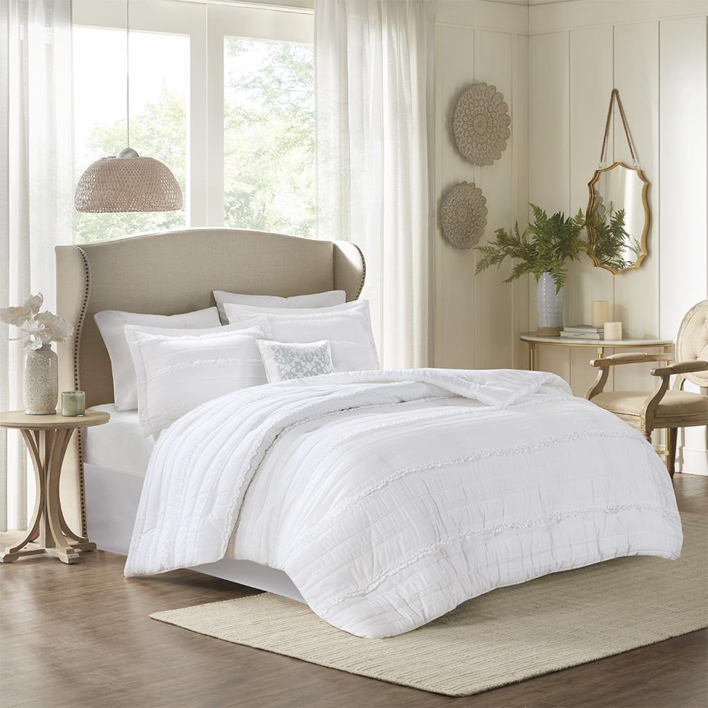 Celeste 5 Piece Comforter Set Madison Park Olliix