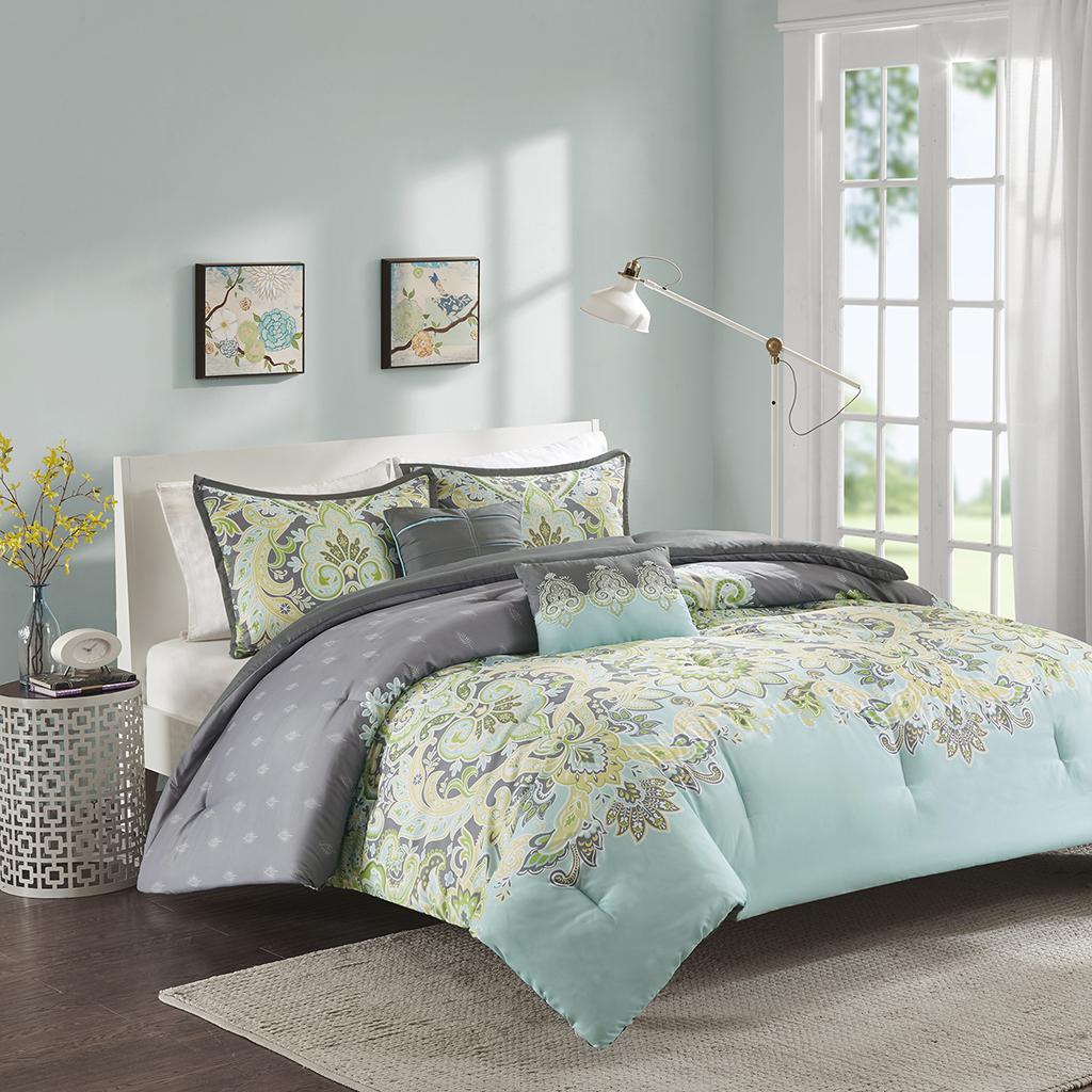 Zana Comforter Set Intelligent Design Olliix