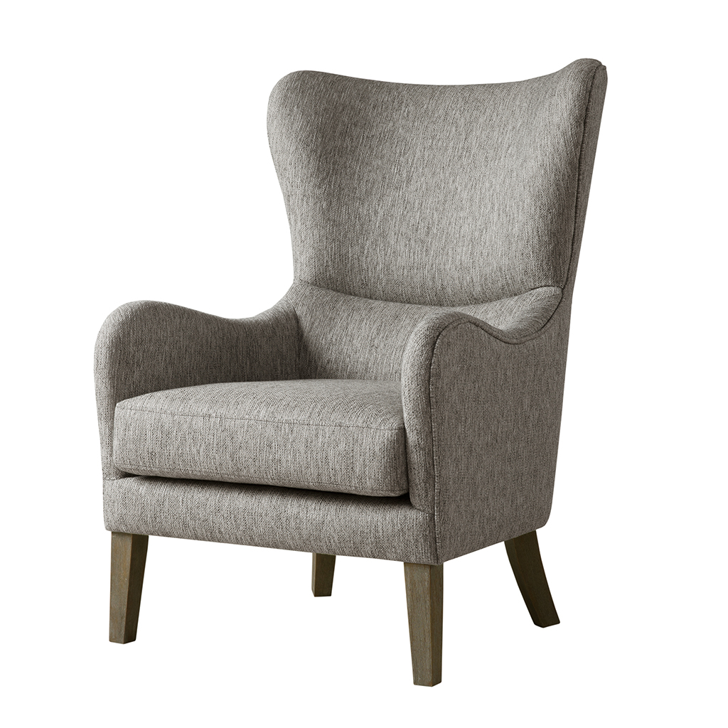 Arianna Swoop Wing Chair   Madison Park | Olliix