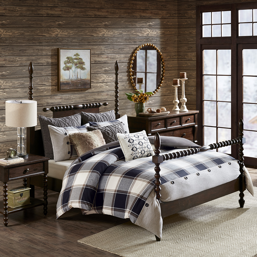 Urban Cabin Cotton Jacquard Comforter Set Madison Park
