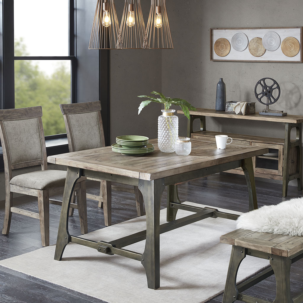 Oliver Extension Dining Table Ink Ivy Olliix