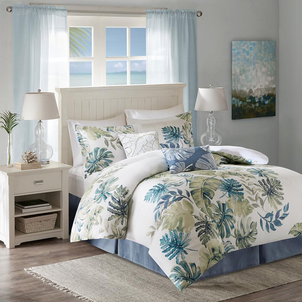 High Quality Lorelai Cotton Printed 6 Piece Comforter Set