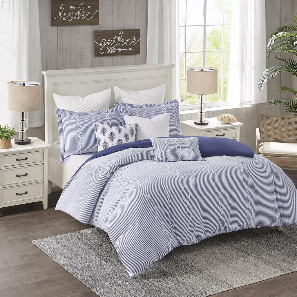 Coastal Farmhouse Comforter Set By Madison Park Signature Designer Living