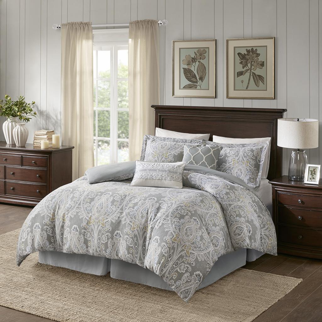 Hallie 6 Piece Cotton Comforter Set