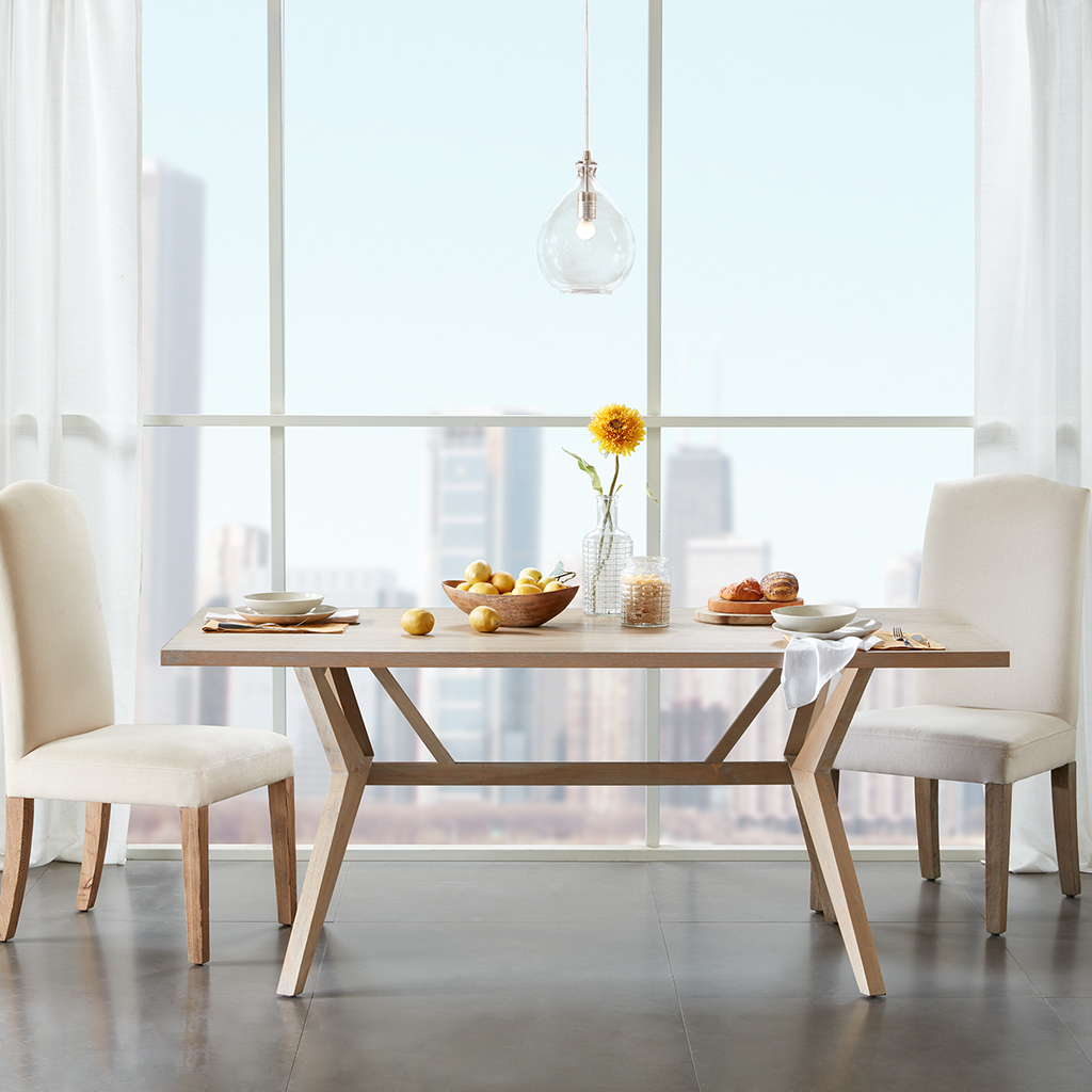 Lintel dining table madison park olliix for Table 52 parking