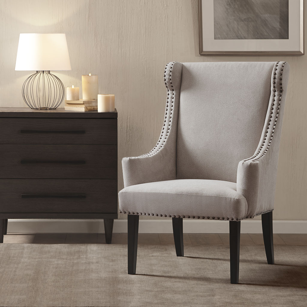 Marcel High Back Wing Chair Madison Park Olliix