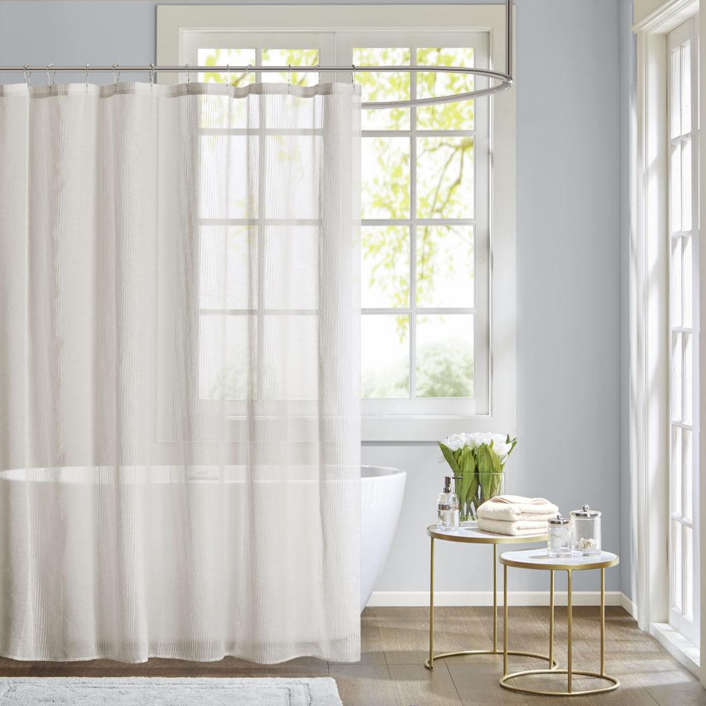 Superieur Anna Sheer Shower Curtain