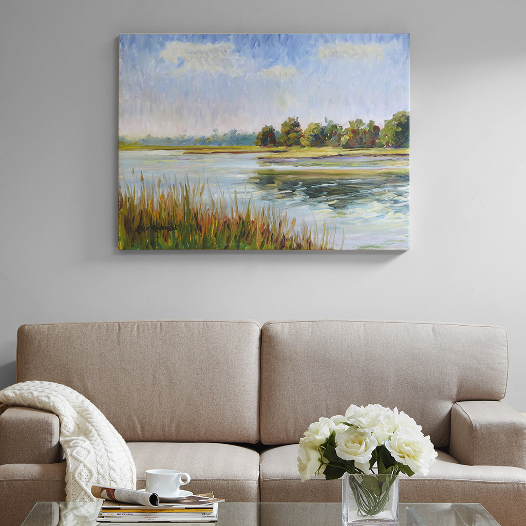 View In Bliss Gel Coated Canvas Madison Park Signature